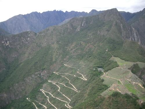 Desde el Huayna Picchu